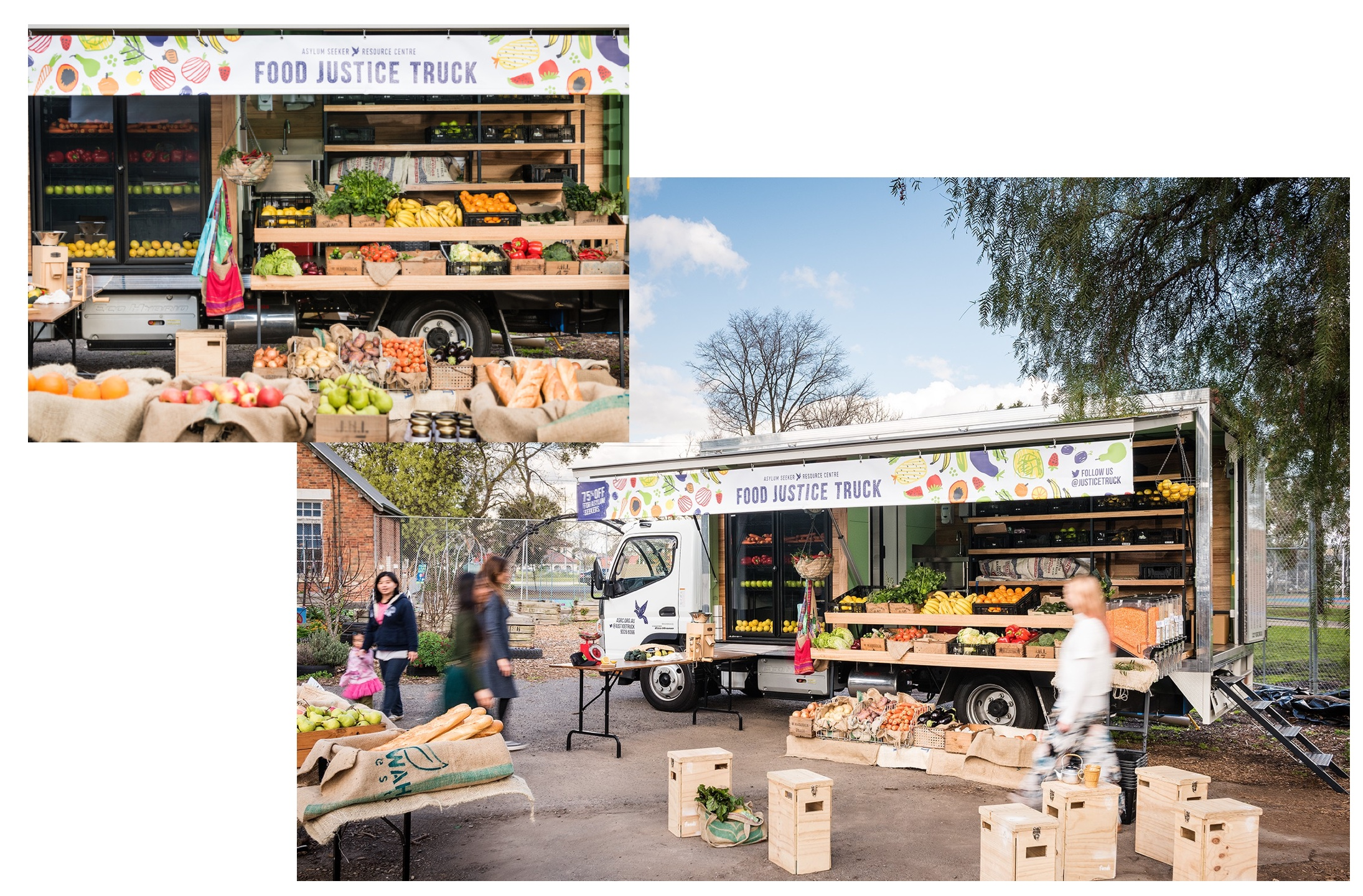 ASRC's Food Justice Truck